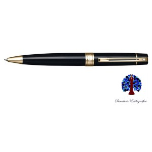Sheaffer 300 Black Lacquer Gold Bal.