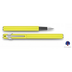 Caran D'Ache 849 Yellow Neon